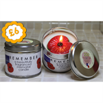Poppy Candle - Tin