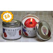 Poppy Candle - Tin