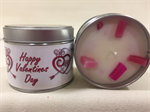 Valentine's Day Rose Fragranced Tinned Candle