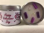 Valentine's Day Lavender Fragranced Tinned Candle