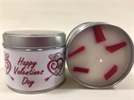 Valentine's Day Berry Delight Fragranced Tinned Candle