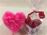 Fragranced Valentine's Heart Shaped Candle