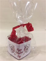 Berry Delight Fragranced Valentine's Heart Shaped Candle