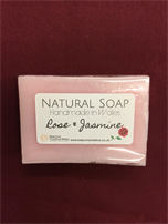 Rose and Jasmine soaps